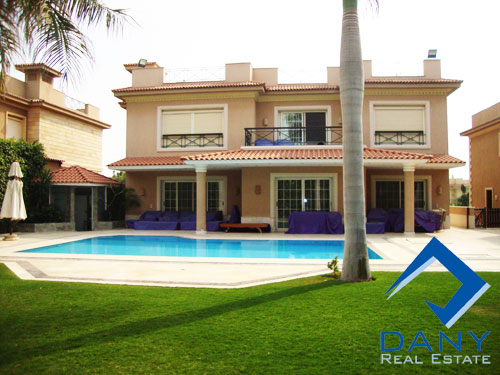 Residential Villa For Sale in Katameya Heights Great Cairo Egypt