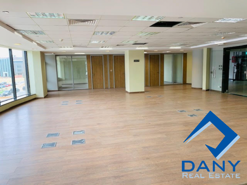 Commercial Offices For Rent Not Furnished in New Cairo - Katameya - Great Cairo - Egypt