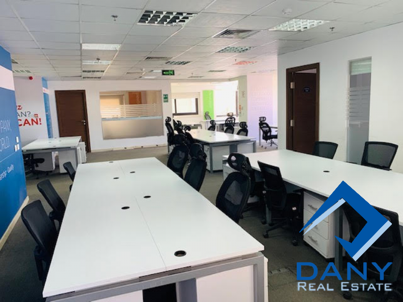 Commercial Offices For Rent Furnished in New Cairo - Katameya - Great Cairo - Egypt