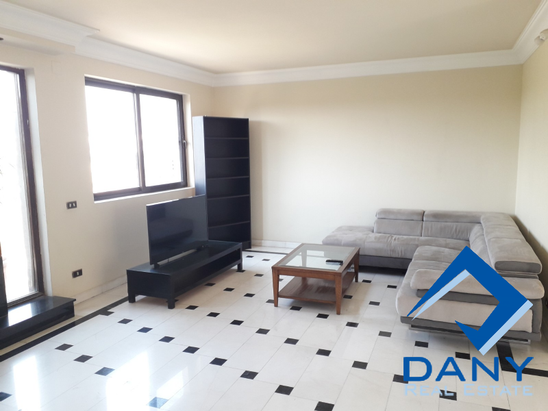 Residential Penthouse For Rent Furnished in Maadi Sarayat - Great Cairo - Egypt
