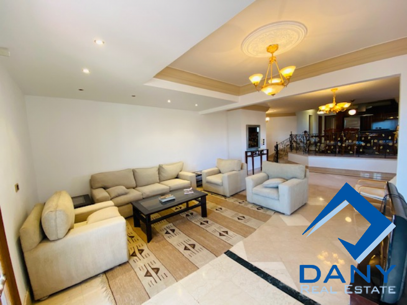Residential Penthouse For Rent Furnished in Maadi Digla - Great Cairo - Egypt