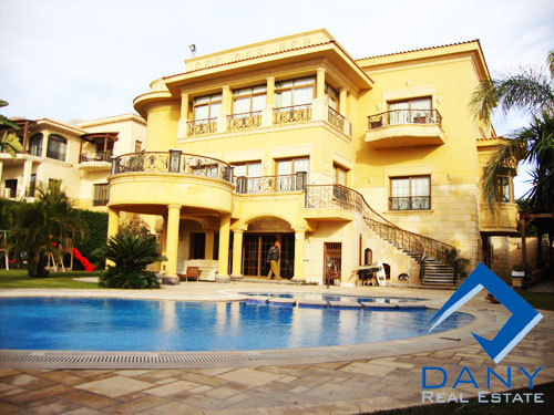 Residential Villa For Sale in Arabella Katameya Great Cairo Egypt