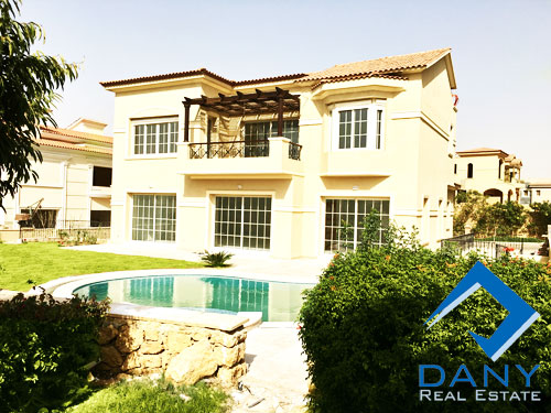 Residential Villa For Rent Semi Furnished in Lake View Great Cairo Egypt