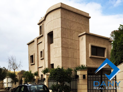 Residential Villa For Rent Semi Furnished in Maadi Digla Great Cairo Egypt
