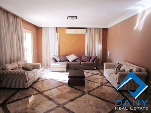 Residential Villa For Rent Furnished in The Villa Great Cairo Egypt