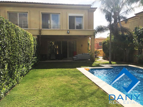 Residential Villa For Rent Furnished in Lake View Great Cairo Egypt