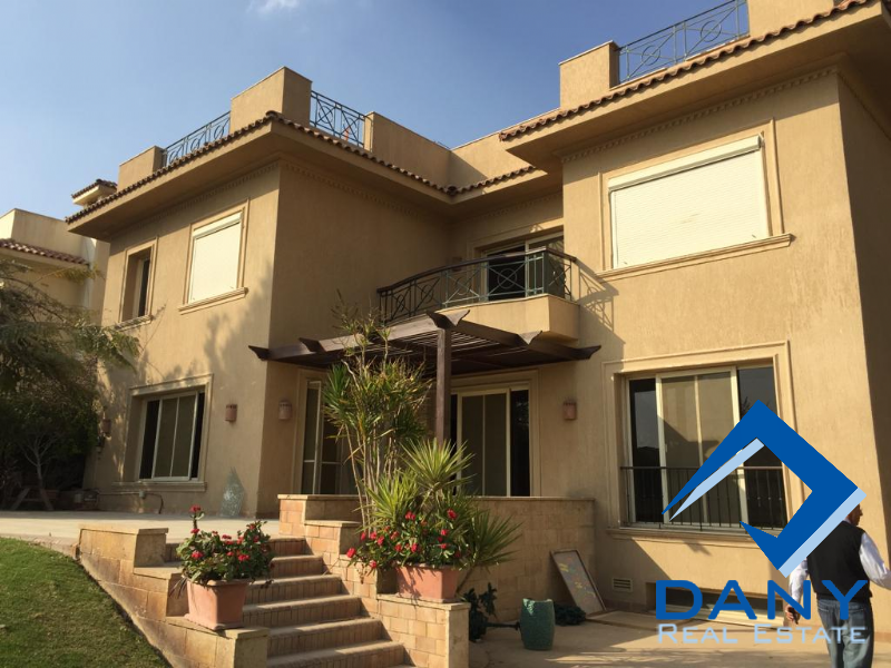 Residential Villa For Rent Semi Furnished in Katameya Heights - Great Cairo - Egypt